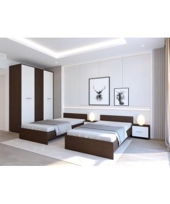 Dormitor HERA CU 2 PATURI...