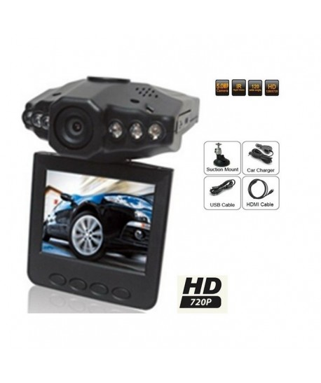 Camera auto cu inregistrare si ecran LCD 640x480 HD