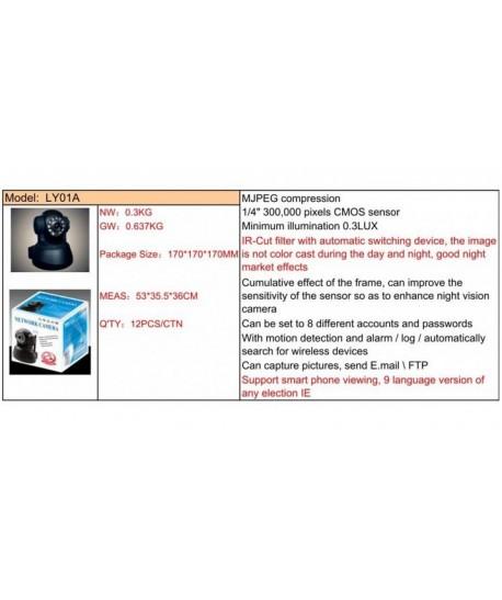 Camera supraveghere cu IP LY01A