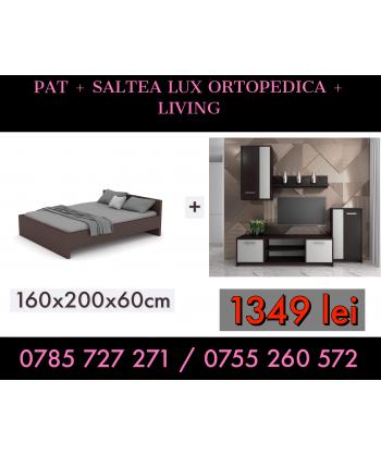 Pat Hera 160x200 + Saltea...