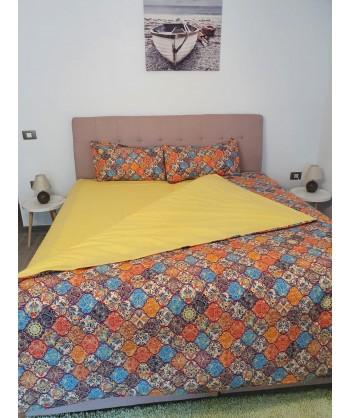 LENJERIE PAT Yellow -Bumbac...