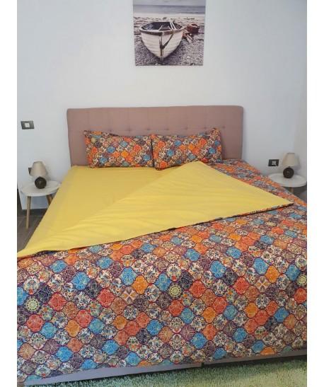 LENJERIE PAT Yellow -Bumbac Ranforce-