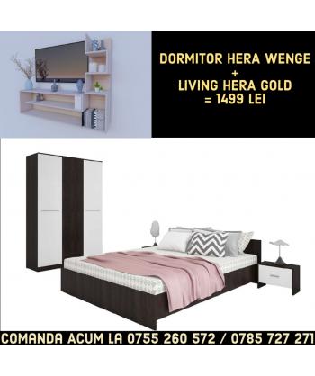 Dormitor Hera WENGE +...