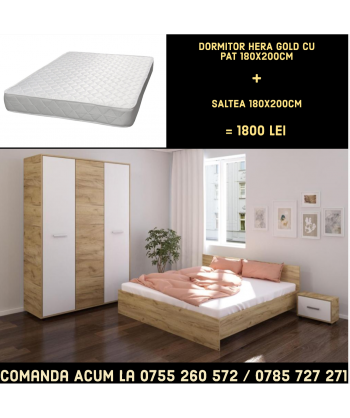 Dormitor Hera II CU PAT...