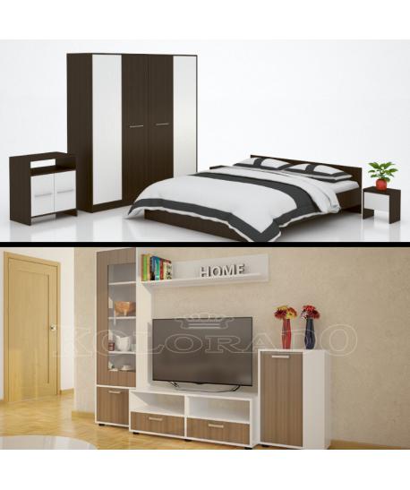Dormitor Mirela + Living Bertak