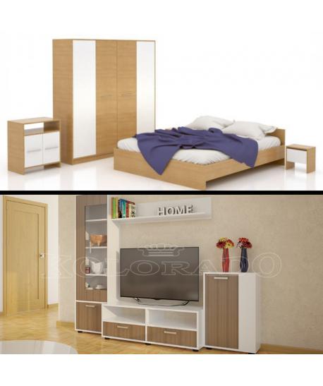 Dormitor Mirela II + Living Bertak