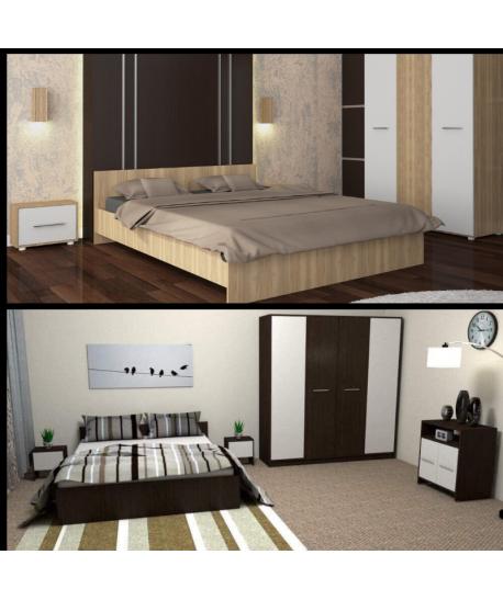 Dormitor Hera II + Dormitor Mirela